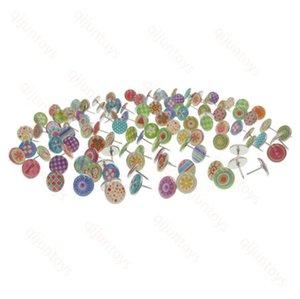 물방울 이형 압정 이모 지형 꽃 이모티콘 장식 이모티콘 11mm 식 DIY 패턴 라운드 드립 핑거 압정