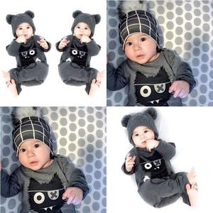 Roupas de bebê 0-3 anos de idade outono roupas infantis comércio exterior ocidental baby2018 uma peça do bebê recém-nascido roupas infantis baby rompe