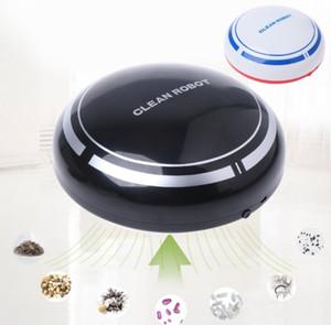 Automático USB recargable Robot inteligente Aspiradora Limpiador de pisos Barrido Succión LLFA