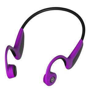 3colors nuevo Z8 Bluetooth 5.0 Bone Conduction Headset Deportes inalámbricos Sweat-proof auriculares manos libres para Iphone 8