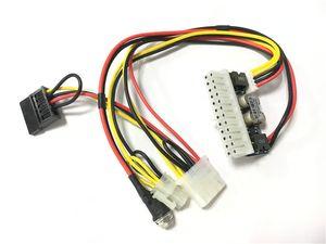 DC ATX PSU 12V 250W Pico ATX Switch Pico PSU 24pin MINI ITX DC a ATX Alimentatore per PC con 4 pin a CPU 4PIDESATA Per Compute