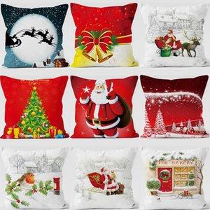 Weihnachten kissenbezug cartoon Kissenbezug Weihnachten kissenbezug Auto Wohnkultur Bett Sofa Dekorative Kurze plüsch 45 * 45 cm