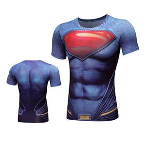 Men New DemixNew 3D Wick SpiderBar in maglia da allenamento Fitness Tight Blouse Gym Abbigliamento sportivo Maglie da calcio Tennis Tuta sportiva manica corta da uomo