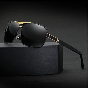 Hombres 2018 gafas de sol polarizadas de la marca masculina gafas de sol de conducción gafas clásico con caja original 722