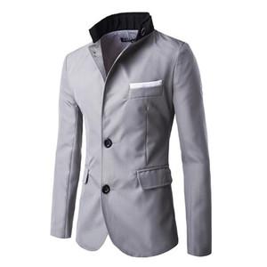 Herren Blazer 2018 Neue Ankunft Kleidung Kleidung EINAUDI Mode Top Herren Casual Anzug Anzug Slim Fit Herren Blazer Jacke