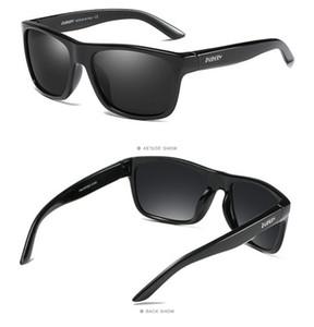 DUBERY Hot New Sports gafas de sol polarizadas modelos Gafas coloridas con marco de cuadro completo Uv 400 D182