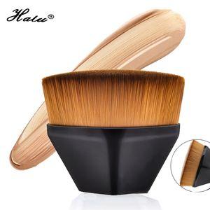 HaLu Single Black Diamond Foundation BB Cremebürste Kosmetische Isolationsflüssigkeit Creme Magie Make-Up Pinsel PVC Box Qualität