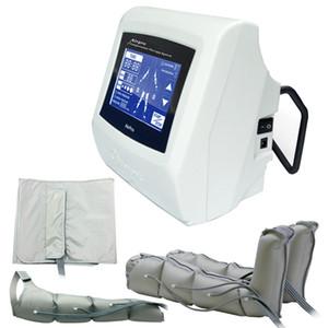 5 polegada Touch Screen máquina de terapia de compressão de Ar Pressoterapia presoterapia Pé Linfático Massageador Detox Máquina de beleza