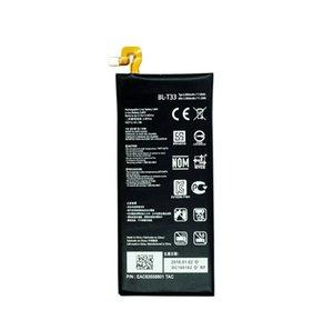 1x 2900mAh / 11.2Wh BL-T33 Ersatzakku für LG Q6 M700A M700AN M700DSK M700N