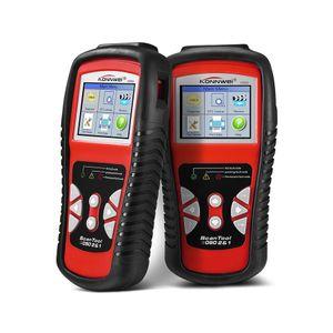 KONNWEI KW830 OBD2 ODB2 escáner automotriz para el diagnóstico del coche universal auto error de código de error lector ODB2 escáner de diagnóstico del coche