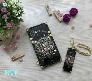 Дизайнер Роскошный Телефон Чехол iphonex iPhone 9 iPhone7 / 8Plus iPhone7 / 8 iPhone6 / 6SP 6 / 6S Мода Полный чехол для телефона для дешевого