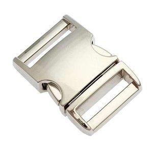 10/15/20/20 / 25 мм боковой релиз контурные изогнутые металлические пряжки для мешок DIY Paracord пряжки для браслет сумка аксессуары частей