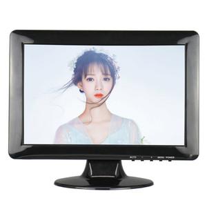 Relación de pantalla 16:10 Pantalla táctil resistiva de 12,1 pulgadas de ancho con resolución 1280 * 800 AV / BNC / VGA / HDMI / interfaz USB para CCTV