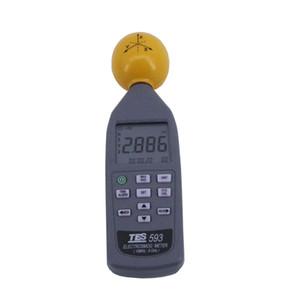 송신기 용 디지털 TES-593 EMF 미터 데이터 로거 RF 전력 측정