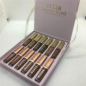 Stila Eye for Elegance Set звездно-Eyed Liquid тени для век Vault путешествия макияж Glow Set Eye Cosmetics 12 цветов палитры
