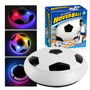 Creative LED Lumière clignotant Soccer Ball Jouets Coloré Air Power Soccer Hoverball Hovering Football Glissant En Plein Air Enfants Jouet Cadeau