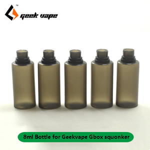 Gbox squonker bouteilles 8ml e jus e-liquide bouteille Réservoir de rechange pour Geekvape Gbox 200w mod Radar