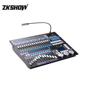 80% Off Controladora DJ Profesyonel King Kong 1024 DMX Kontrol DJ Disko Flightcase Ile Hareketli Kafa Sahne Aydınlatma Konsolu Ekipmanları