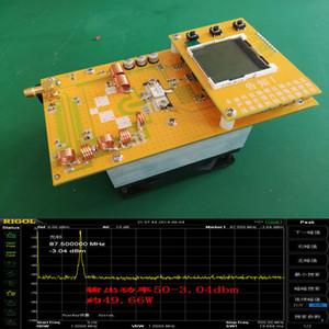 Freeshipping Transmisor FM ajustable 30W Power dc 12V Digital LED Radio Station PLL FM estéreo / Volumen de frecuencia de alimentación ajustable