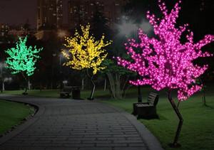 LED 벚꽃 나무 빛 Luminaria 1.5M 1.8M LED 트리 램프 풍경 야외 조명 크리스마스 웨딩 데코 LLFA