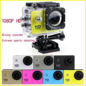 1080P Full HD Action Digital Sport Camera 2 Inch Screen Under Waterproof 30M DV Recording Mini Sking Bicycle Photo Video Cam