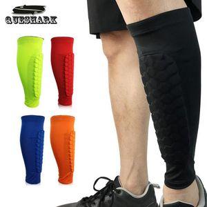 1 قطع المضادة للتصادم كرة القدم شين الحرس كرة السلة العجل دعم ضغط الجوارب الجوارب الجري الساق تدفئة الساق