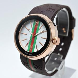 Hohe Qualität 2018 Italien Mode Marke Frauen gummiband Quarz Armbanduhren Luxus Kleid Uhr Reloj Mujer Für Weibliche montre femme