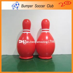Spedizione gratuita gratuita pompa di alta qualità 2 m gonfiabile sfera di salto umano, gigante palla da bowling gonfiabile gioco, umano zorb bowling in vendita