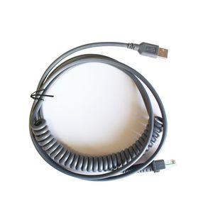 5шт Новый 3M USB прямой Спринг кабель для Datalogic D100 GD4130 QD2130 кабель сканер штрих-кода