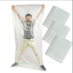 DHL Livraison gratuite! Feuille en plastique pour l'enveloppe de corps 120 * 220cm / pour l'usage ensemble avec la couverture de sauna