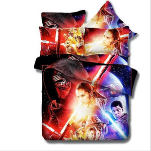 3D designs planet series bedding set queen king size reactive printing good fastness cartoon designs tiger leopard linon cat seatacion
