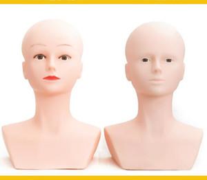Mannequin-Kopf Büste Make-up Weiblich Für Spitze Perücken Anzeige Training Mannequin Flat Head