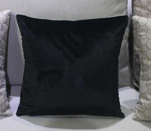 Klassische marke muster C kissenbezug 45x45 cm ohne kissen gefälschte Strass luxus mode design logo kissenbezug abdeckung