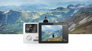 كاميرا EKEN H6S الترا اتش دي عالية الجودة مع كاميرا رياضة Ambarella A12 رقاقة 4K / 30fps