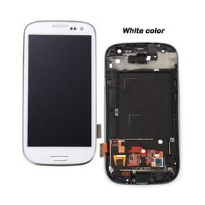 Samsung Galaxy S3 / i9300 LCD, 100% kesinlikle tesed Çalışma, Dokunmatik Ekran Digitizer meclisi, Çerçeve ile, Ücretsiz Onarım Araçları