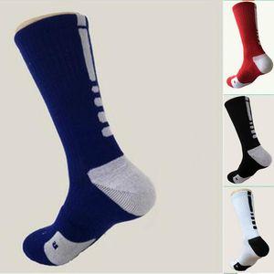 الركبة كرة السلة جوارب طويلة جوارب رياضي الرياضة المهنية النخبة أزياء الرجال الضغط الحراري في فصل الشتاء جوارب مجاني حجم