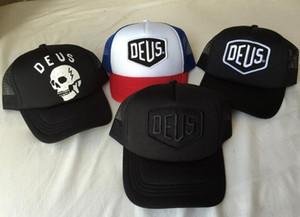 Deus Ex Machina Baylands дальнобойщик Snapback шапки черный мотоциклы сетка Бейсбол шляпа значок Спорт Дрейк 6 Бог октябрь Cap Casquette кости Хабар