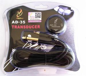 Adeline AD-35 Mini Sound Pick-up Transdutor Piezo MIC. Para guitarra acústica ukulele Violino Viola Violoncelo banjo sem perfuração