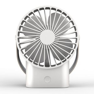 Ventilateur USB portable 3 vitesses refroidisseur réglable mini ventilateur 2500mAh rechargeable pratique petit bureau USB ventilateur