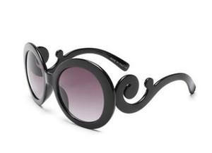Sonnenbrille-Frauen der Frauen schwebende Retro- Sonnenbrillen der Wolken berühmte Markengläser 9901 geben Verschiffen frei