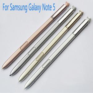 100% trabalho para samsung galaxy note 5 s caneta sm-n9200 n9208 n9209 note5 s pen stylus acessórios para telefones portáteis caneta de toque cinza rosa