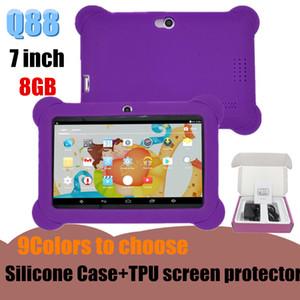 """كمبيوتر لوحي للأطفال 8 جيجابايت 512 ميجابايت رباعي النواة A33 7 """"Tablet"""