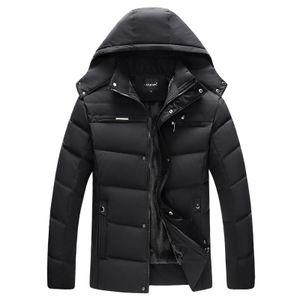 New Man Parka Thicken Warm Jacket Casual con capucha Outwear Abrigos acolchados de algodón Winter Windbreakers Clothings Men Hot Sale Plus Size 4XL