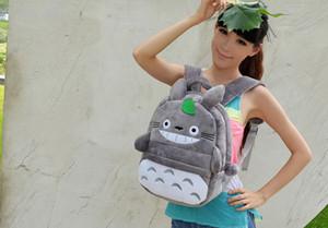 School Backpack ; 30*25CM Fits 4-10Year Kids Kawaii  TOTORO Plush Children Baby Kindergarten Backpack Shoulder Pack