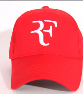 2018 más nuevos gorras de béisbol calientes más nuevos hombres mujeres Roger Federer RF Híbrido Hat raqueta de tenis sombrero snapback cap raqueta de tenis ajustable