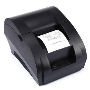 Original ZJ-5890K Portable 58mm USB POS Receipt Thermal Printer with USB Port Low Noise For Restaurant Supermarket EU PLUG