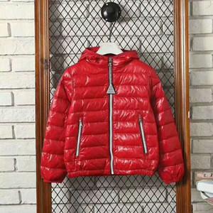 Marca le ragazze dei ragazzi il 90% vera piuma d'oca giacca bambini outwear inverno francese di top coat warm neve 2T-10T