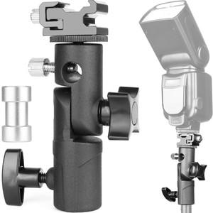 1 Pc / lote Universal Tripé Cabeças de Metal Câmera Plataforma Parafuso Interface Refletir Luz Guarda-chuva Suporte Fotográfico Cradle Stand