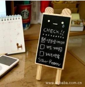 الكورية مصغرة التعبير السبورة السبورة الصغيرة رسالة تحمل شكل السبورة