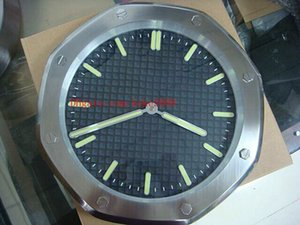 8 컬러 Topselling 고품질 패션 벽시계 15400st.O.01 15400 스테인레스 스틸 쿼츠 전자 LuO.1220stminines 벽 시계